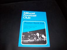 Millwall v Preston North End, 1972/73